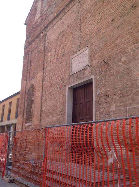 Inagibili la Chiesa di San Francesco e l'ex Ospedale
