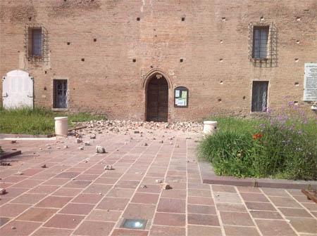 Ecco come è ora l'ingresso della Rocca