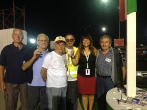 uno splendido team dell'accoglienza a FestaReggio!