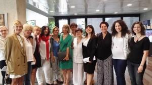 Prima del dibattito in Aula. Grazie alle donne che hanno voluto esserci!