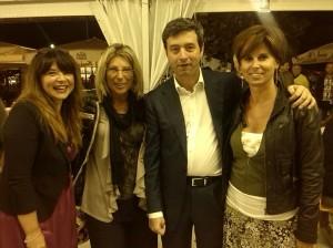 il Ministro con le Avvocate Celestina Tinelli e Silvia Piccinini